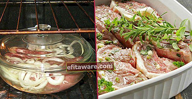 오븐에서 건조하지 않고 고기를 요리하기위한 잘 알려지지 않은 7 가지 팁