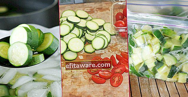Per mantenere la tua tavola tutto l'anno: come tenere la zucca nel congelatore passo dopo passo?