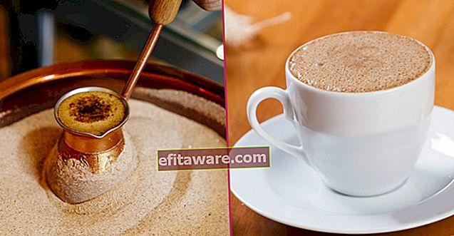 Una bevanda straordinaria diversa da tutti i caffè conosciuti: il caffè Menengiç