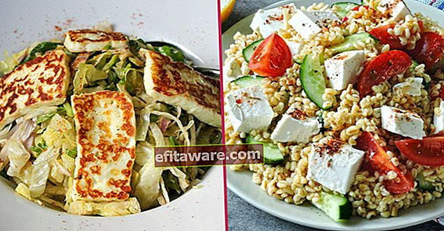 13 Resep Salad Yang Mendapat Kekuatan dari Hidangan Utama yang Lezat dengan Keju Favorit Anda