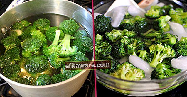 Come bollire i broccoli senza perdere il colore verde e i valori nutrizionali?