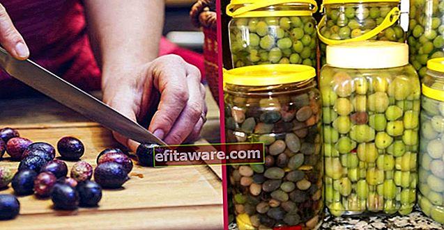 柔らかくせず、塩辛すぎず、最も簡単な方法で:自宅でオリーブを作る方法は?