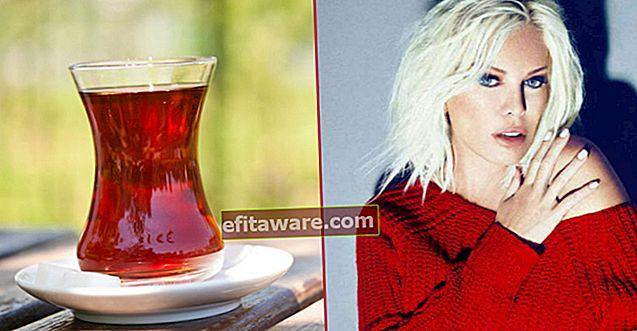 Der interessante Grund für große, dünn taillierte Teegläser, die als Ajda-Becher bezeichnet werden