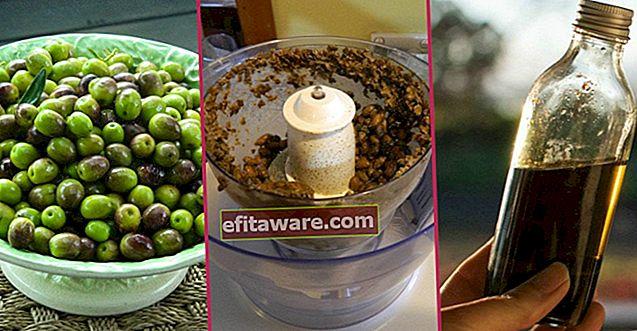 Für diejenigen, die zu Hause ihr eigenes Olivenöl zubereiten möchten: Schritt für Schritt Olivenmilch herstellen