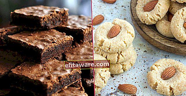 23 ricette di dessert che hai sempre pensato a base di farina ma deliziose senza farina
