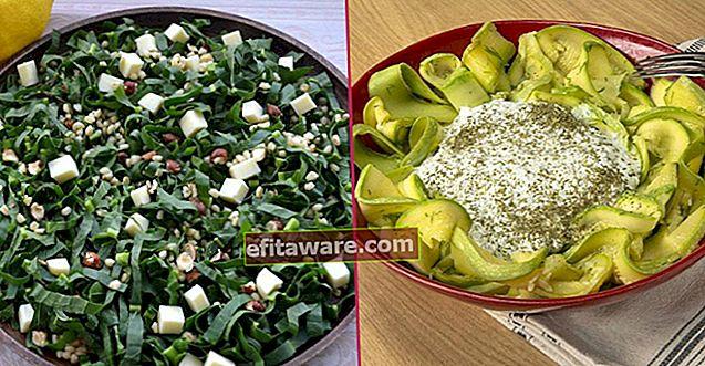 20 diverse ricette di insalata che ti mantengono pieno anche se mangiato da solo