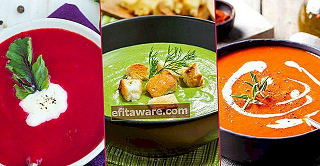 15 diverse ricette di zuppe per chi è noioso con ezogelin o lenticchie