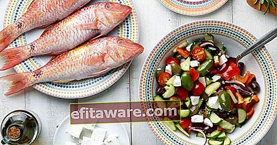 Una delle diete più piacevoli per perdere 8 chili in 2 settimane: la dieta mediterranea