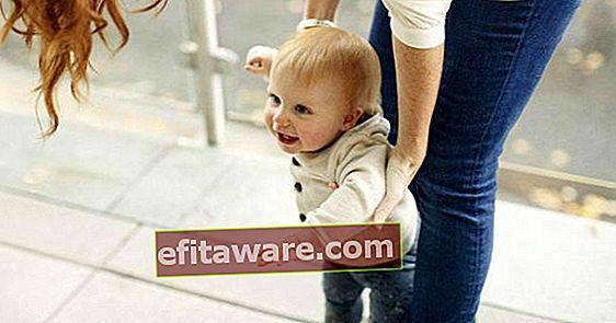아기가 자랄 때 : 14 개월 아기 발달