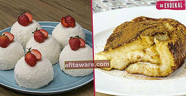 12 ricette di dessert al latte a basso contenuto di ingredienti realizzati facilmente con ingredienti che si trovano in quasi tutte le case