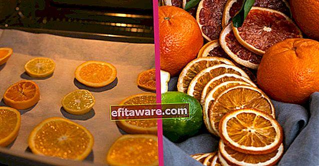 Două metode diferite, cu secretele păstrării proaspete pentru o lungă perioadă de timp: Cum să uscați o portocală?
