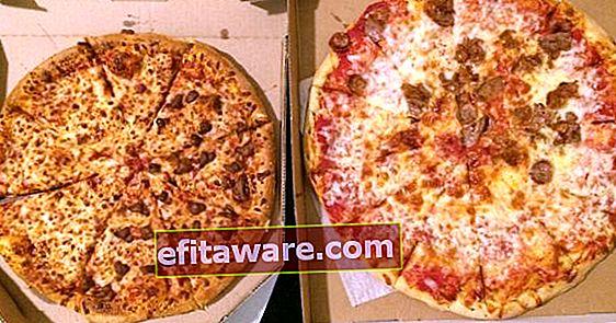 Perché dovresti sempre prendere una pizza di grandi dimensioni anche se non sei molto affamato?