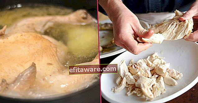 Suggerimenti che dovresti sapere per preparare una carne di pollo morbida e un brodo di pollo curativo