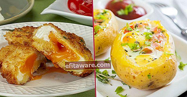 15 diverse ricette a base di uova per la colazione che ti faranno svegliare la mattina