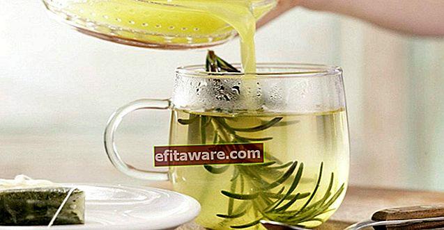 Rasa Penyembuhan yang Ingin Anda Buat dan Minum Setiap Hari Setelah Anda Menyadari Efeknya: Teh Rosemary
