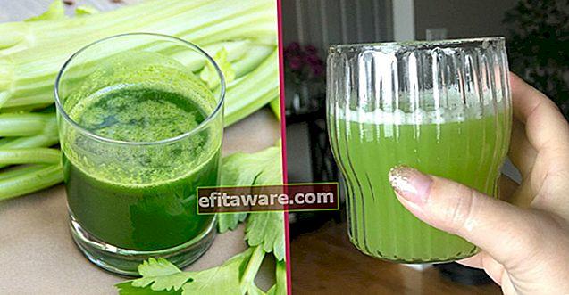 Cosa succede nel corpo quando bevi succo di sedano ogni mattina per 7 giorni?