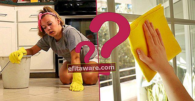 Die Nachrichten sind riesig: Welche Hausarbeit verbrennt wie viele Kalorien?