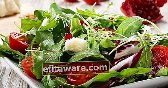 Das Letzte vor dem Wiegen: Wie sollten Diät-Salate und Saucen sein?