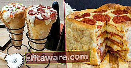 13 Persembahan Piza yang Berbeza Yang Disukai oleh Pencinta Pizza