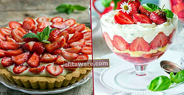 """17 deliziose ricette di dessert alla fragola che ti faranno dire """"Se la stagione delle fragole non finisce mai"""""""