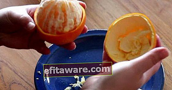 Se solo avessimo imparato prima: come sbucciare effettivamente un'arancia?