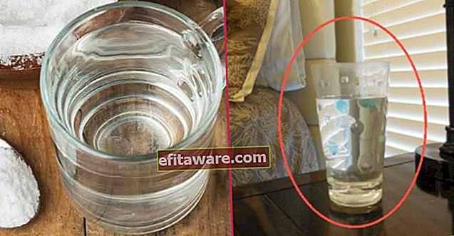 Esperimento sull'acqua che dovrebbero provare coloro che credono che abbiano energia negativa nelle loro case