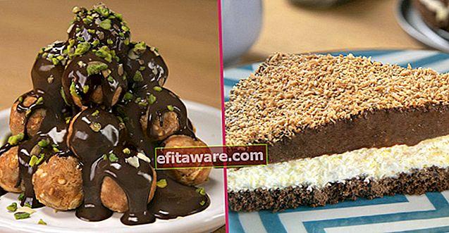 15 ricette pratiche di dessert per coloro che non possono passare una giornata senza cioccolato
