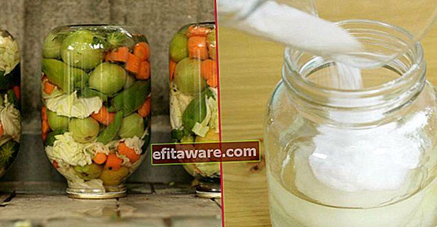 Tidak mustahil: Bagaimana Bau Buruk Di dalam Jar Acar Dengan Mudah?