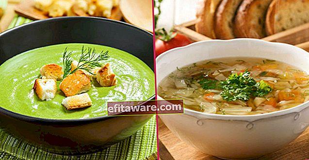 8 ricette di zuppa dietetica che aiuteranno il tuo sforzo per eliminare l'edema e proteggere la tua forma
