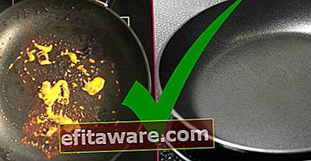 Uno dei due rimedi per la paura dei graffi: come pulire la padella in teflon?