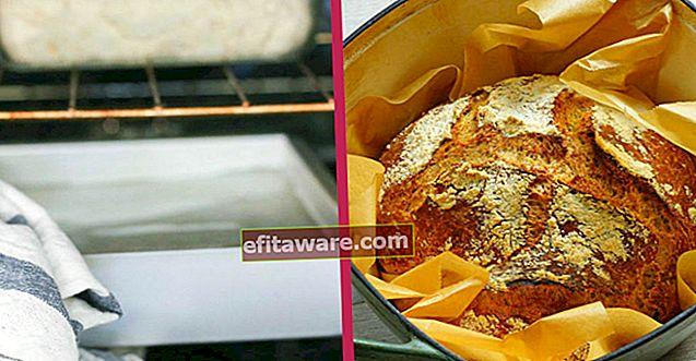 La verità segreta è nascosta qui: perché l'acqua viene messa nel forno quando si prepara il pane?