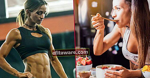 Ernährungsprogramm für eine Frau, die überrascht ist, dass sie eine vegane Bodybuilderin ist