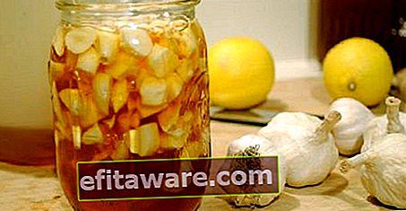 Obat mujarab dari Menurunkan Kolesterol menjadi Membakar Lemak: Lemon Garlic Cure