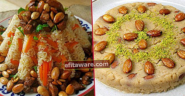 16 ricette tradizionali che sono state un ospite frequente dei tavoli Iftar sin dall'impero ottomano