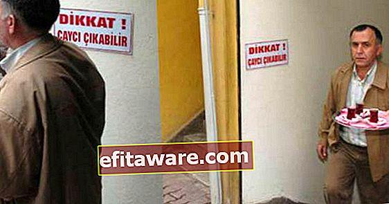 16 parole di avvertenza per i negozi che puoi vedere solo in Turchia