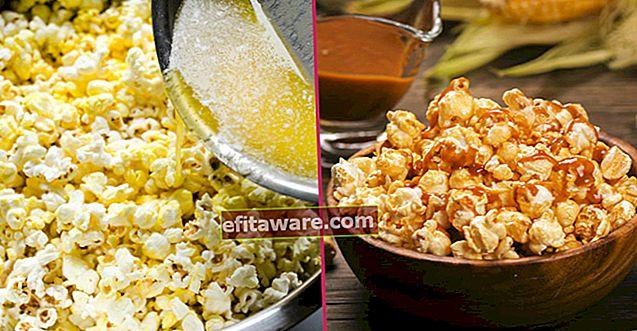 Bagaimana cara meletuskan jagung dengan cara termudah dari pedas ke karamel di rumah?