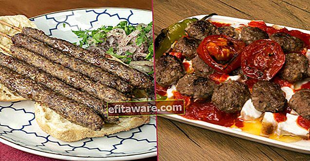 최고의 붉은 고기 형태 18 가지 맛있는 케밥 요리법