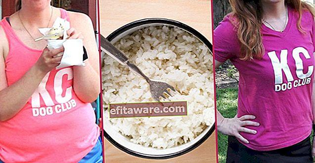 อาหารที่ผิดปกติที่กล่าวกันว่าลดน้ำหนัก 4 ปอนด์ต่อสัปดาห์: อาหารข้าว