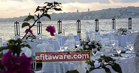 특별한 날을위한 이스탄불에서 가장 낭만적 인 장소 7 곳