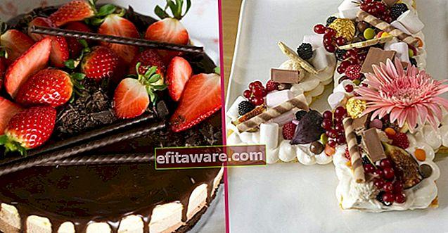 12 Resep Kue Bergaya Yang Dapat Anda Buat Dengan Tangan Anda Untuk Ulang Tahun Kekasih Anda